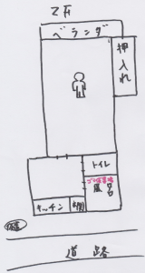 担当者の現場レポート図面
